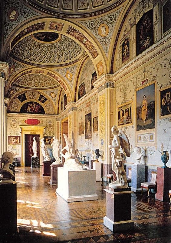 St Petersburg Postcard The Hermitage The Gallery History of Ancient Painting Y21