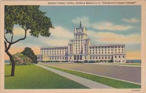 Ocean-Forest Hotel, MYRTLE BEACH, South Carolina, 1930-1940s