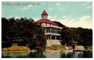 Wisconsin Madison  , Brown's Lake , Antlers Pavilion
