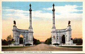 Pennsylvania Philadelphia Fairmount Park Smith Memorial Monument 1915 Curteich