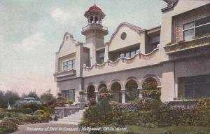 HOLLYWOOD , California, 00-10s ; Paul de Longpre Residence, Winter