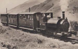 Train in Mountains at Talyllyn Vintage Welsh Wales Railway Station Postcard