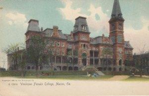 MACON , Georgia, 1900-10's ; Wesleyan Female College