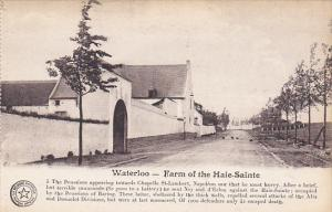 Belgium Waterloo Farm of the Haie-Sainte