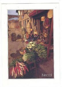 1 Family market place , Kathmandu Valley, NEPAL , 70-80s