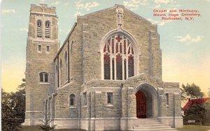 Chapel & Mortuary Rochester, New York Postcard