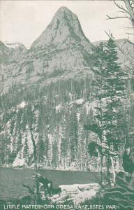 Little Matterhorn Odesa Lake, Estes Park and the Rocky Mountains National Par...