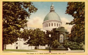 MD - Annapolis. US Naval Academy, The Chapel
