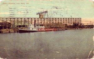 CRAIG'S SHIPYARDS LONG BEACH, CA 1910