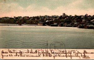 New York Geneva Seen From The Lake 1906