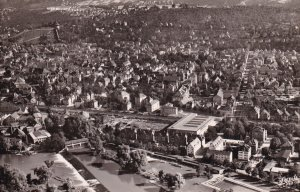 RP; ESSLINGEN A. N., Baden-Wurttemberg, Germany, 1900-1910's; Aerial View