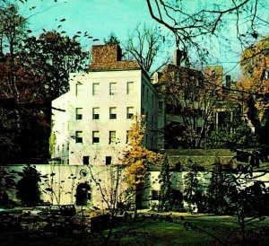 Winterthur Delaware DE Henry Francis Du Pont Museum Exterior Chrome Postcard UNP