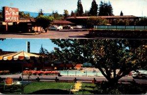 California Palo Alto Paso del Norte Motel 1957