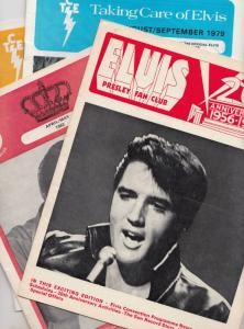 Elvis Presley Fan Club Christmas Card Always Newsletter 4x Bundle Ephemera