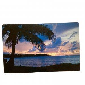 Puerto Rico Sunset Postcard
