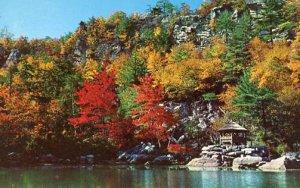 NY - Mohonk Lake. Mohonk Mountain House, Summerhouse