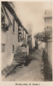 RP: ST. GEORGE'S, Bermuda, 1930s ; Tin-Can Alley