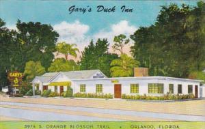 Florida Orlando Gary's Duck Inn Restaurant