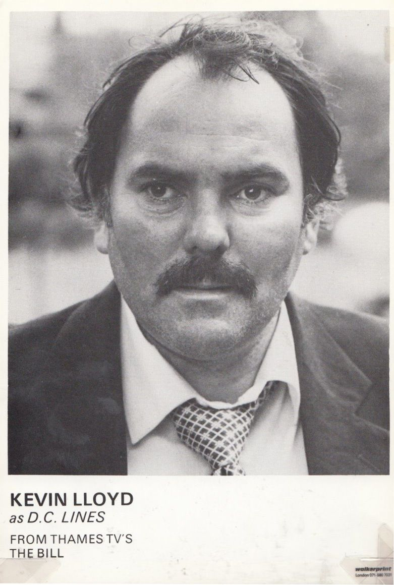 Kevin Lloyd as DC Lines in ITV The Bill Cast Card Photo