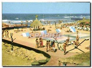 Postcard Modern Casablanca Pool Tahiti