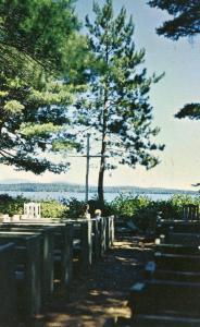 NH - Squam Lake. Chocorua Island (Church Island)