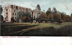 General Hospital, Toronto, Ontario, Canada, Early Postcard, Unused