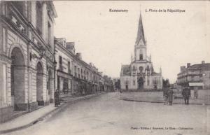 ECOMMEY (Sarthe), France , 00-10s : Place De La Republique