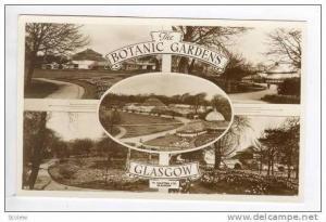 RP  5-view, Botanic Gardens, Glasgow, Scotland 1940s