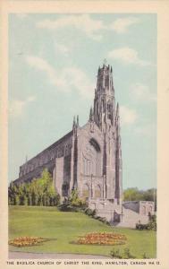 The Basilica Church of Christ the King, Hamilton, Ontario, Canada, 30-50s