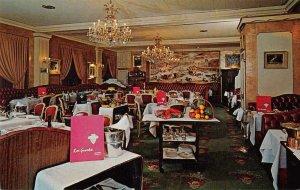 Washington DC Rive Gauche French Restaurant Vintage Postcard JF686579