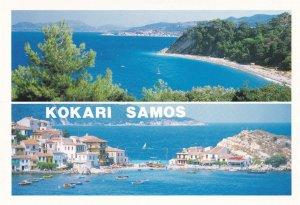 Kokari Samos Greece Greek Postcard