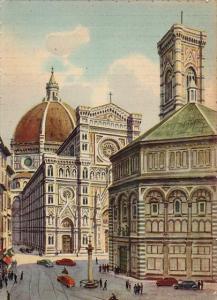Italy Firenze Il Battistero e la Cattedrale