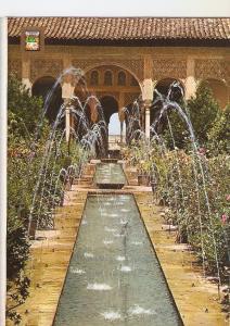 Postal 038866 : Granada. Generalife. Patio de los Surtidores