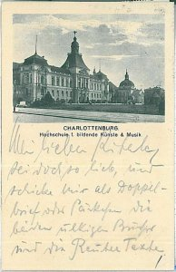 25898 Ansichtskarten VINTAGE POSTCARD: GERMANY - BERLIN : CHARLOTTENBOURG