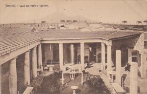 Italy Pompei Casa dei Vettii e Vesuvio