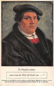 US3434 D. Martin Luther, Und wenn die Welt voll Teufel War history personality