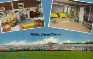 Motel Charlottetown, CHARLOTTETOWN, Prince Edward Island, Canada, 40-60'