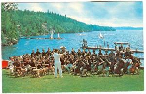 Senior Symphony Orchestra on Waterfront, Camp of Fine Arts, Parry Sound, Onta...