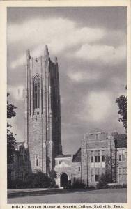 Belle H Bennett Memorial, Scarritt College , Nashville , Tennessee , PU-1941