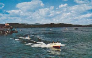 Water-Skiing ; Lake Winnipesaukee , The Weirs , New Hampshire , 40-60s