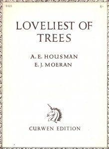 Loveliest Of Trees From The Shopshire Lad Olde Sheet Music