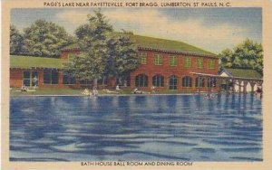 North Carolina Lumberton St Pauls Pages Lake Near Fayetteville Fort Bragg