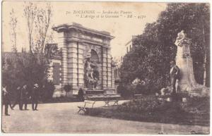 France, TOULOUSE, Jardin des Plantes, used Postcard