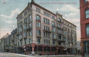Michigan Grand Rapids The Livingston Hotel 1908
