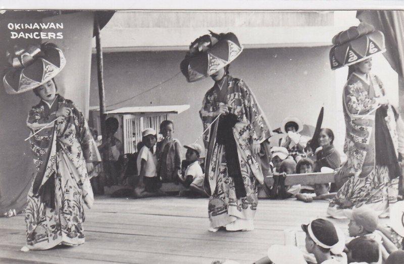 RP; Dancing Girls , Okinawa , Japan , 1940s
