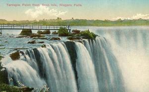 NY - Niagara Falls, Terrapin Point from Goat Isle