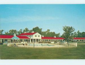 Unused Pre-1980 MOTEL SCENE Dunkirk New York NY HJ8873