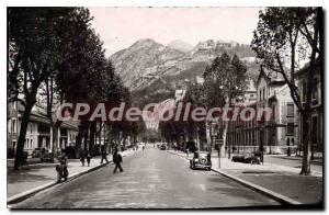 Old Postcard Grenoble Cours Jean Jaures Bastille