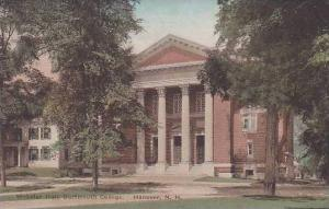 New Hampshire Hanover Webster Hall Dartmouth College Albertype