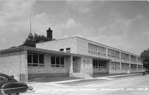 F15/ Plymouth Wisconsin RPPC Postcard c1950s St Johns Lutheran School